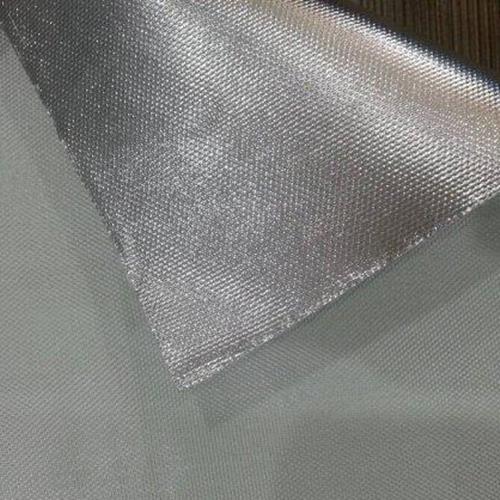 阻燃单面镀铝膜玻纤布(型号FG702-FR)